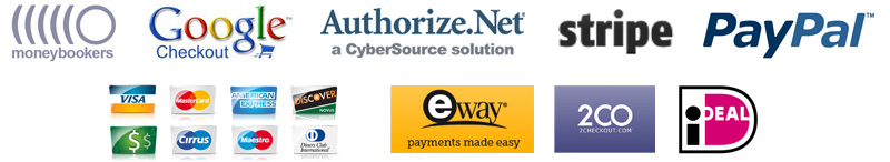 Supported online ordering payment gateways for your restaurant